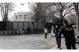 دستگیری  4 عراقی  به اتهام حمله به سفارت آمریکا در ترکیه