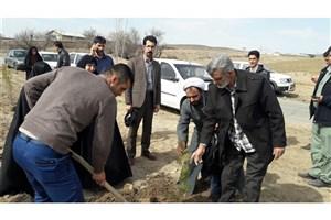 همایش پاکسازی محیط زیست و درختکاری برگزار شد