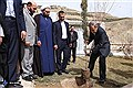 Dr. Velayati Plants Saplings to Mark National Arbor Day / In Photos