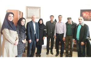 جلسه رئیس فدراسیون ژیمناستیک با سرپرست کاروان ورزشی ایران در مسابقات آسیایی ۲۰۱۸ جاکارتا