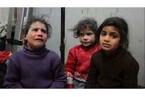 ۳۰۰ خانوار سوری زیر گلوله باران افراد مسلح در غوطه