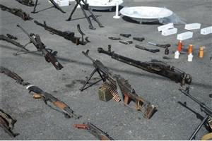 کشف انبار سلاح های آمریکایی در غوطه شرقی
