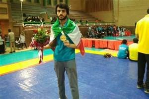 Khash IAU Student Becomes Champion in Int'l Peace & Friendship C'ships