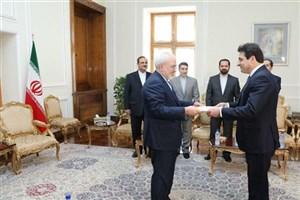 سفیر لبنان رونوشت استوارنامه خود را تقدیم «ظریف» کرد