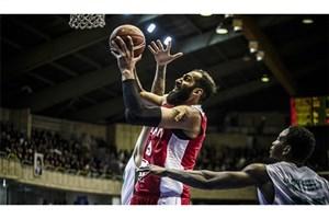 حضورحامد حدادی در تمرین بسکتبال  پتروشیمی