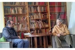 تقدیر از  یک عمر تلاش احمدرضا احمدی