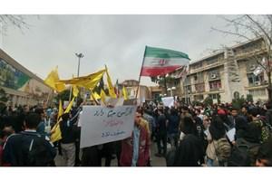 تجمع اعتراض آمیز دانشجویان در دانشگاه امیر کبیر پایان یافت