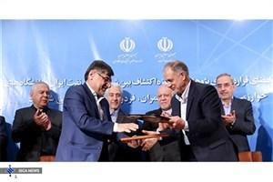 امضای ۵ قرارداد پژوهشی بین شرکت ملی نفت و دانشگاهها در حوزه اکتشاف