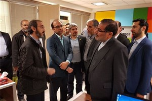 بازدید شمخانی از شرکت های دانش بنیان دانشگاه صنعتی شریف