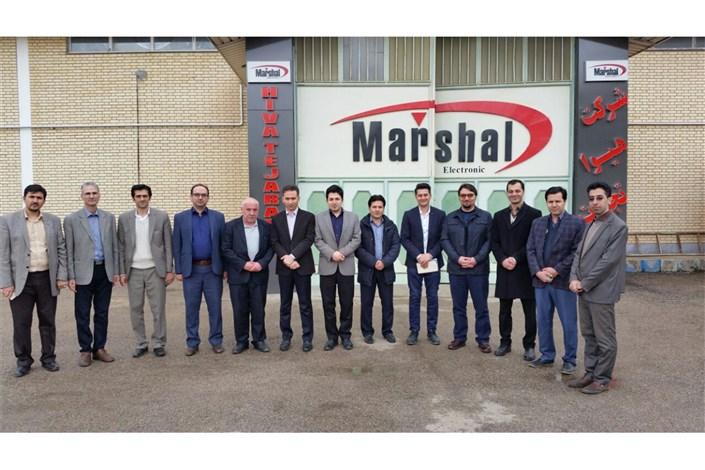 بازدید اعضای هیات علمی واحد اردبیل  از واحد های شهرک صنعتی اردبیل