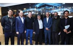 دیدار ضیایی با نایب رئیس فراکسیون ورزش مجلس