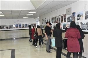 نمایشگاه عکس در دانشگاه آزاد اسلامی واحد بوکان برپا شد