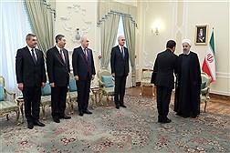 دیدار وزیر اقتصاد جمهوری آذربایجان با دکتر روحانی