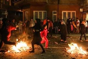 چهارشنبه سوری در تهران فوتی نداشت
