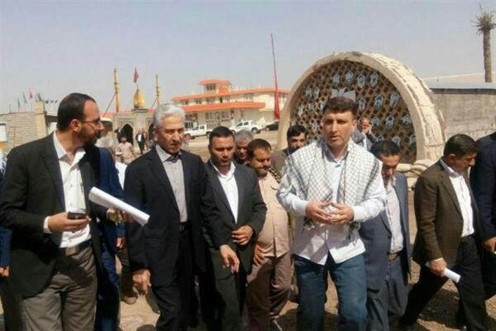 وزیر علوم از مجتمع اردوگاهی شهید باکری خرمشهر بازدید کرد