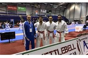 شکست کاتای مردان در گام اول رقابت های لیگ جهانی کاراته وان