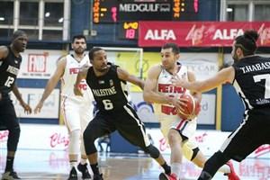 پیروزی  بسکتبال  پتروشیمی مقابل نماینده سوریه