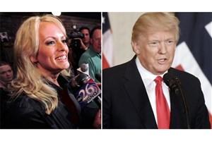 کار ترامپ با بازیگر فیلم های غیراخلاقی بالا گرفت!