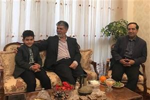 وزیر فرهنگ و ارشاد اسلامی به منزل مرحوم رضا مقدسی رفت