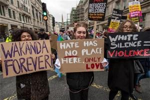 تظاهرات ضد نژاد پرستی در شهرهای اروپا