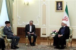 هدف ایران توسعه همه جانبه روابط و همکاریها با عمان است