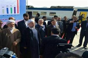راهآهن تهران کرمانشاه افتتاح شد