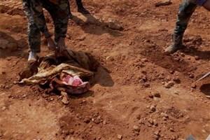 کشف یک گور دسته جمعی در حماه سوریه