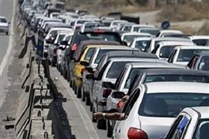 ترافیک سنگین خروجیهای خورستان در بعد از ظهرها