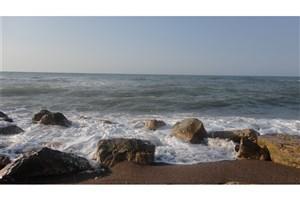 تصاویر هوایی از سواحل دریای خزر