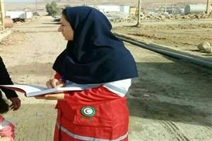 روناک دختری که با ۱۰۰ بخیه در بیمارستان به یاری زلزله زدگان رفت