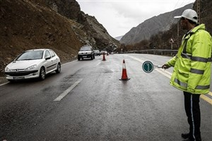 ترافیک نیمه سنگین در آزاد راه کرج