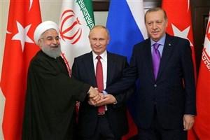 دیدار روحانی و رؤسای جمهور روسیه و ترکیه