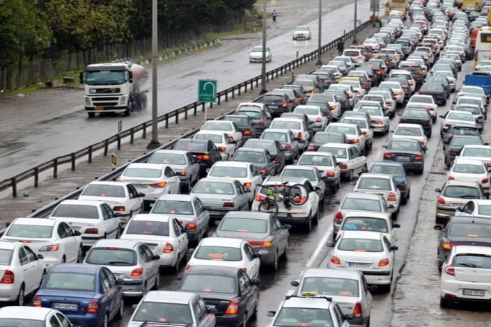 وضعیت  ترافیکی راه ها