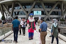 بازدید میهمانان نوروزی از برج میلاد تهران