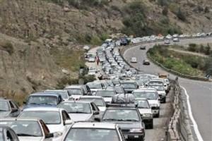 ترافیک  پرحجم و روان  در جاده چالوس و هراز/مه گرفتگی در محور قزوین-رشت