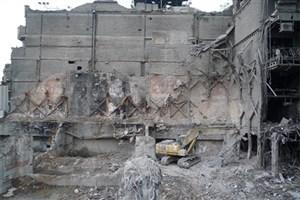 تخریب بخش شمالی پلاسکو امکان پذیر نیست