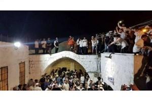 یورش صدها صهیونیست به مقام حضرت یوسف (ع) در نابلس