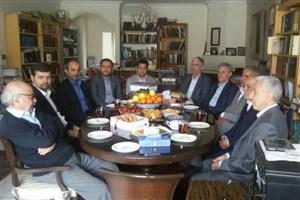 وزیر علوم در دیدار با اساتید پیشکسوت دانشگاه ها