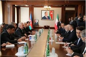 دیدار ظریف با رییس مجلس نخجوان