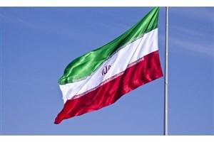 اهتزاز  پرچم  کشورمان در اماکن عمومی ، معابر تجاری و مسکونی