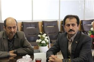 دیدار رئیس دانشگاه آزاد لاهیجان با معاون حفاظت و امور اراضی اداره کل منابع طبیعی استان گیلان