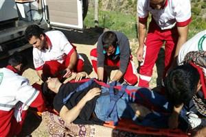 نجات جان کوهنورد زنجانی در منطقه ییلاق طارم