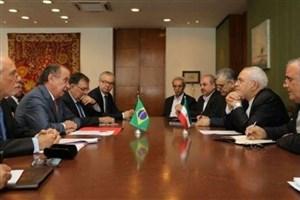 دیدار وزیران امور خارجه ایران و برزیل