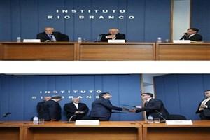 امضای تفاهم همکاری موسسه«ریو برانکو» با دانشکده روابط بین الملل