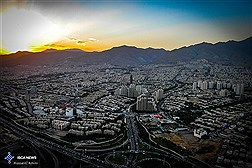 Tehran, View from Above  / In Photos