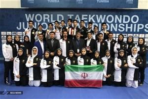 پیام تبریک رئیس جمهوری، وزیر ورزش و کمیته ملی المپیک به مناسبت قهرمانی تکواندو
