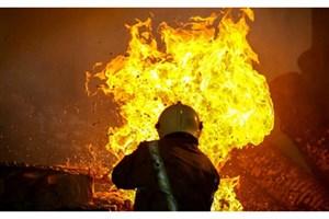 مهار آتش سوزی نمایشگاه بهاره گچساران