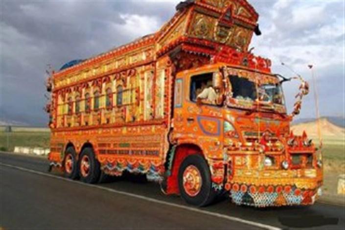 نقاشی کامیونی
