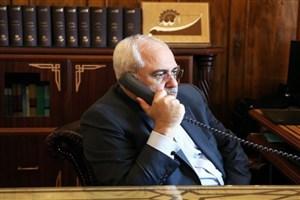 گفتگوی تلفنی ظریف با همتای ونزوئلایی