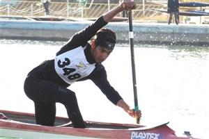 بیرانوند سهمیه  کانوئینگ انتخابی المپیک جوانان   را گرفت